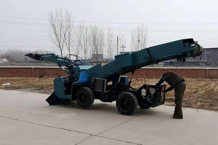 ZWY-60矿用扒渣机