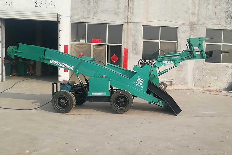ZWY-50矿用wa掘式zhuangzaiji具有转wan灵活,cao作简单,掘进巷道不用调头,效率高