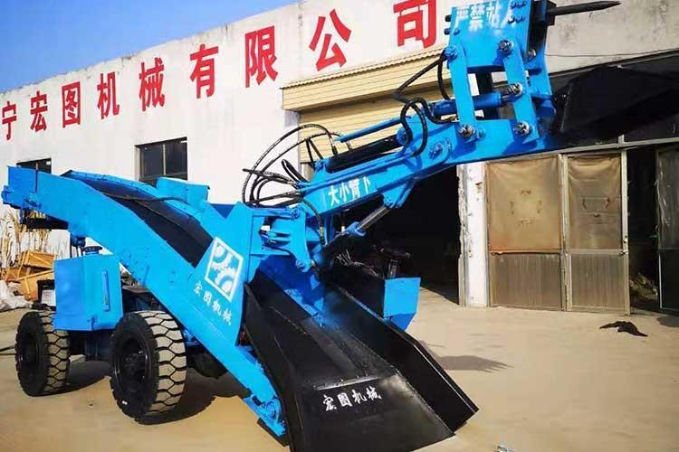 ZWY-50矿用挖掘式装zai机