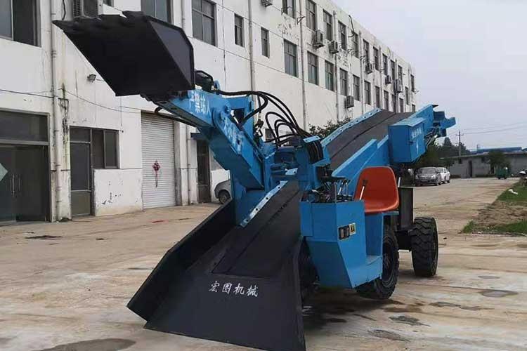 ZWY-70矿用挖掘式装载ji