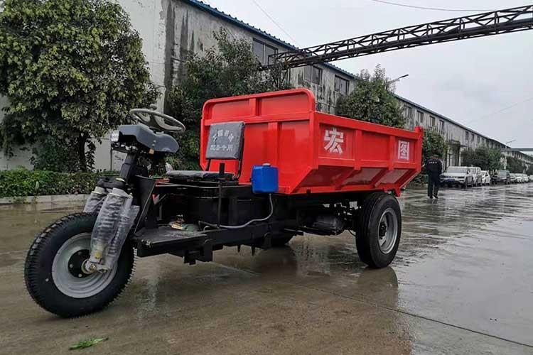 5吨电dong三轮车